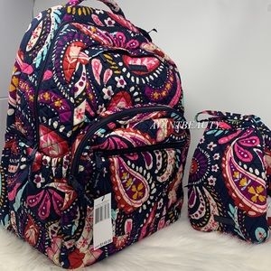 Vera Bradley painted paisley backpack lunch bunch